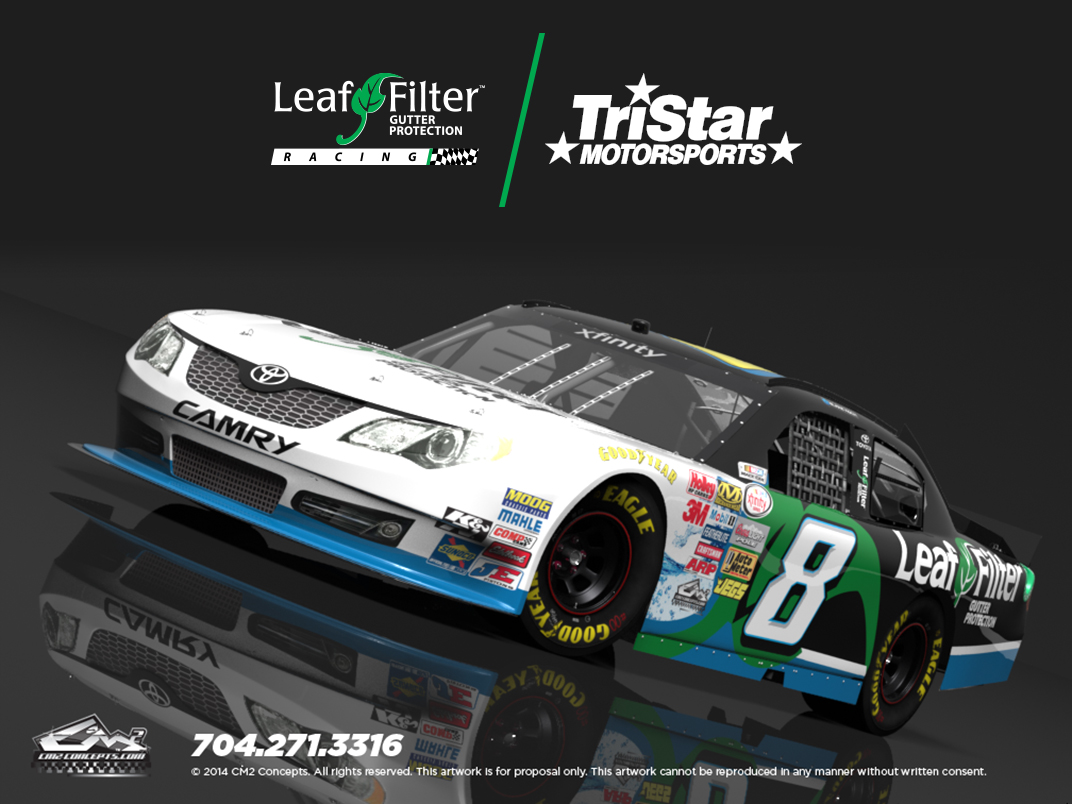 LeafFilter Racing