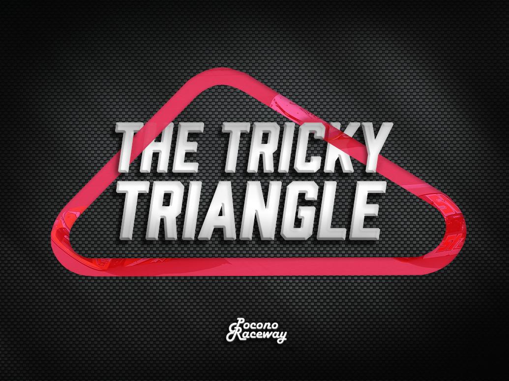 Pocono Raceway Tricky Triangle