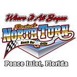 Racing's North Turn Ponce Inlet Florida
