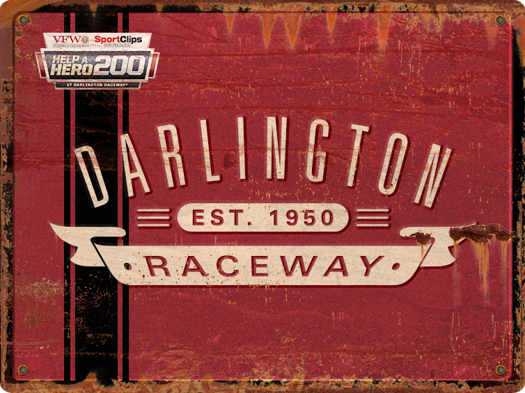 Darlington Raceway NASCAR XFINITY 2016