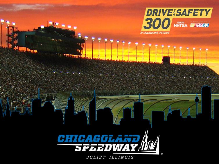 Chicagoland Speedway NASCAR XFINITY 2016
