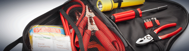 Keep a road side emergency kit, including jumper cables, in your trunk