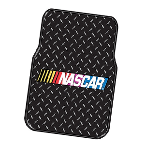 Any NASCAR fan would be proud to show off their love of the sport with these car mats