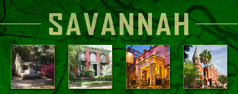 Next up: Savannah, GA