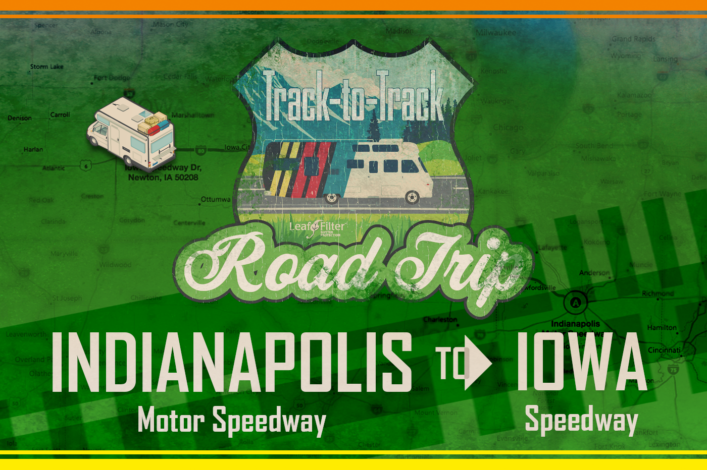 T2T Road Trip Part 5 - Indy to Iowa