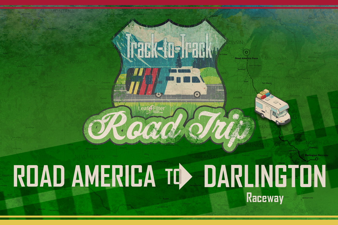 Track-to-Track Road Trip Part 10: Wisconsin to South Carolina